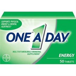 One A Day® Energy, Витамины для Энергии, 50 таблеток