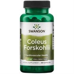 Форсколин - Экстракт Корня Форсколии 400 мг, 60 капсул