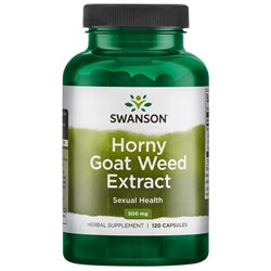 Экстракт Горянки, (секс-тоник) 10% Icariin 500 мг 120 капсул