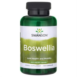 Boswellia / Босвеллия, 400 мг. 100 капсул