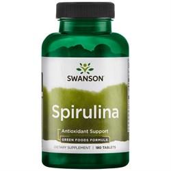 Swanson® Спирулина, 500 мг 180 капсул
