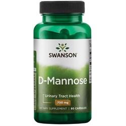 D-Манноза, 700 мг 60 капсул