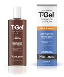 Усиленный Дерматологический Шампунь Т/Гель, T/GEL Extra Strength Neutrogena