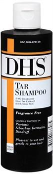 240 мл DHS® Дёгтевый Шампунь при  Псориазе, Себореи и Перхоти - фото 6964