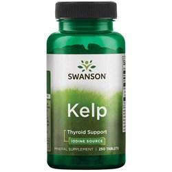 Келп / Kelp, Йод в таблетках, 250 штук - фото 7003