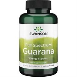 Гуарана / Guarana, 500 мг 100 капсул - фото 7016