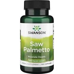 Saw Palmetto / Карликовая Пальма / Пальма Сереноа, 540 мг 100 капсул - фото 7021