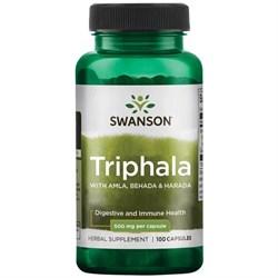 Трифала / Triphala, 500 мг 100 капсул - фото 7030