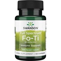 Фо Ти / Fo-Ti / Горец Многоцветковый, 500 мг 60 капсул - фото 7032