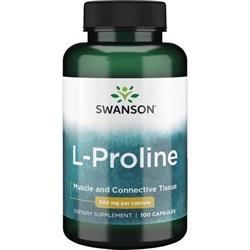 L-Пролин (для кожи и суставов), 500 мг 100 капсул - фото 7084