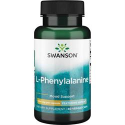 L-Фенилаланин (для настроения и нервов), 500 мг 60 капсул - фото 7089