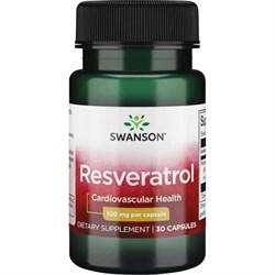 Ресвератрол, 100 мг 30 капсул - фото 7099