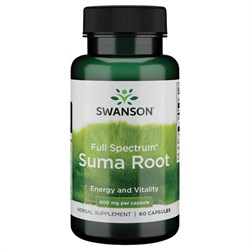 Suma / Корень Сумы / Бразильский Женьшень, 400 мг 60 капсул - фото 7111