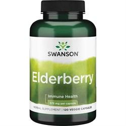 Бузина Черная / Elderberry, 575 мг 120 капсул - фото 7113