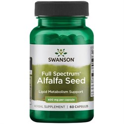 Alfalfa / Люцерна таблетки, 400 мг 60 шт - фото 7118