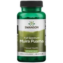 Муира Пуама, (секс-тоник) 400 мг 90 капсул - фото 7141