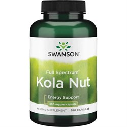 Кола Орех / Kola Nut, 550 мг 180 капсул - фото 7142