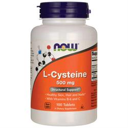 L-Цистеин, 500 мг 100 таблеток - фото 7150