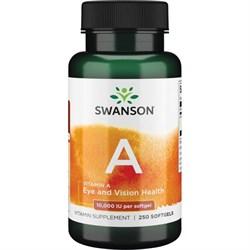 Витамин А / Ретинол, 10000 МЕ 250 капсул - фото 7153