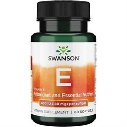 Витамин Е в капсулах, 400 IU 60 шт - фото 7155