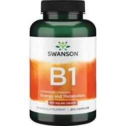Витамин B1 Тиамин, 100 мг 250 капсул - фото 7157