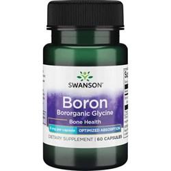Бор / Boron, 6мг 60 капсул - фото 7171
