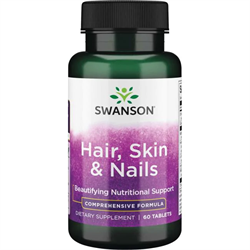 Витамины для Кожи, Волос и Ногтей, 60 таблеток - фото 7206