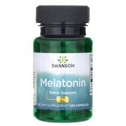 Мелатонин в таблетках, 3 мг. 120 капсул