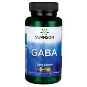GABA / ГАБА, 500 мг. 100 капсул