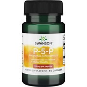 Витамин B-6 (Пиридоксаль-5-Фосфат), 20 мг 60 капсул