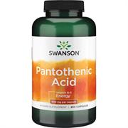 Пантотеновая кислота / Витамин В5,  500 мг 250 капсул