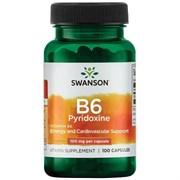 Витамин В6 / Пиридоксин, 100 мг 100 капсул