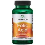 Фолиевая Кислота / Витамин В-9, 800 мкг 250 капсул