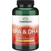 Рыбий Жир Омега 3 EPA/DHA, 1070 мг 120 капсул